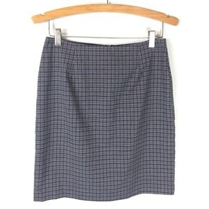 Tailor B. Moss Plaid Pencil Skirt Size 6